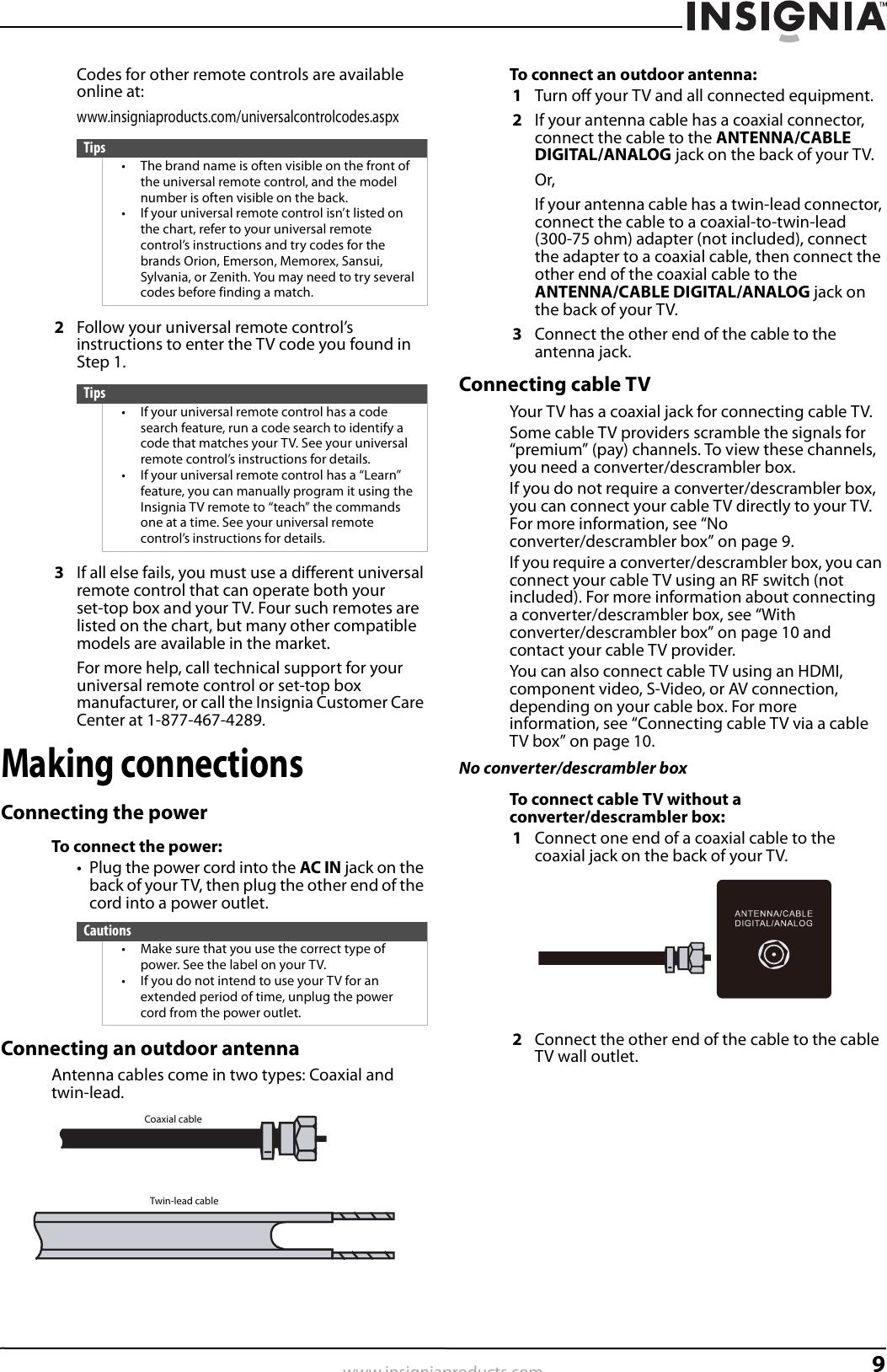 Insignia Ns L55X 10A Users Manual