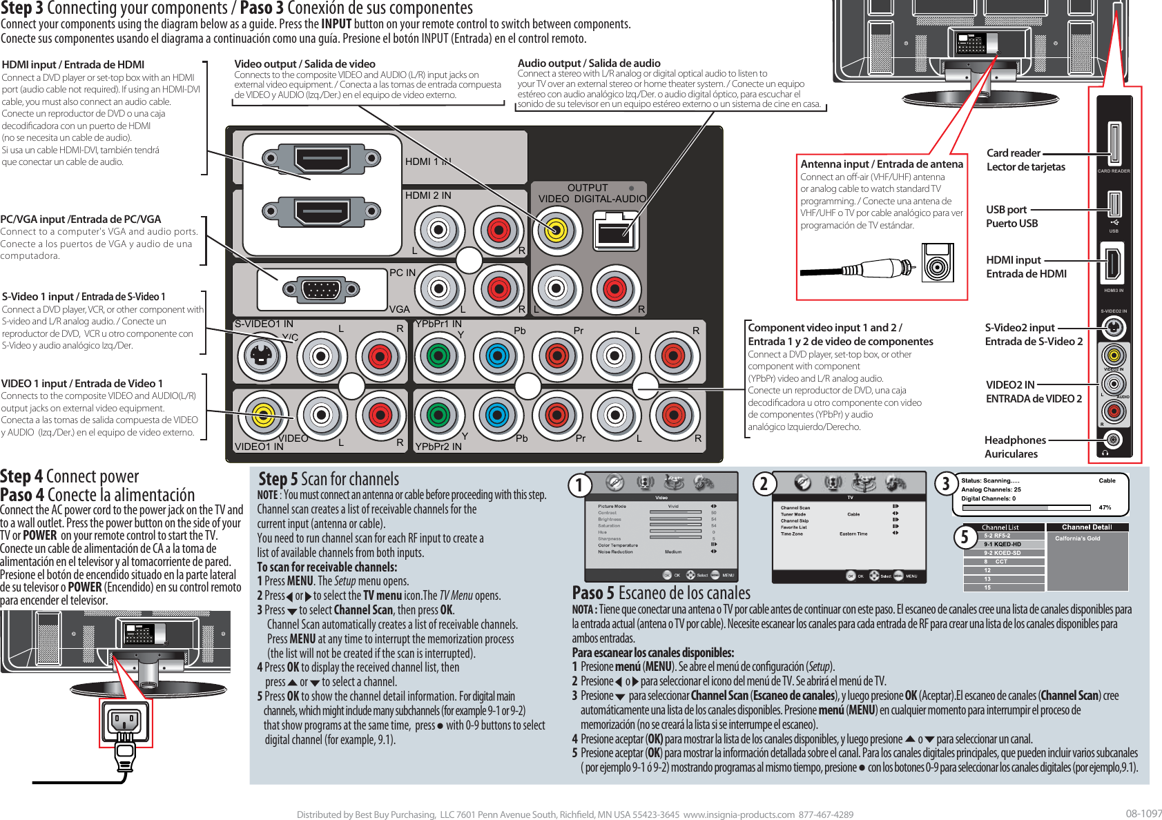 Insignia Ns Pdp50Hd 09 Users Manual 07 413 LCD42 QSG