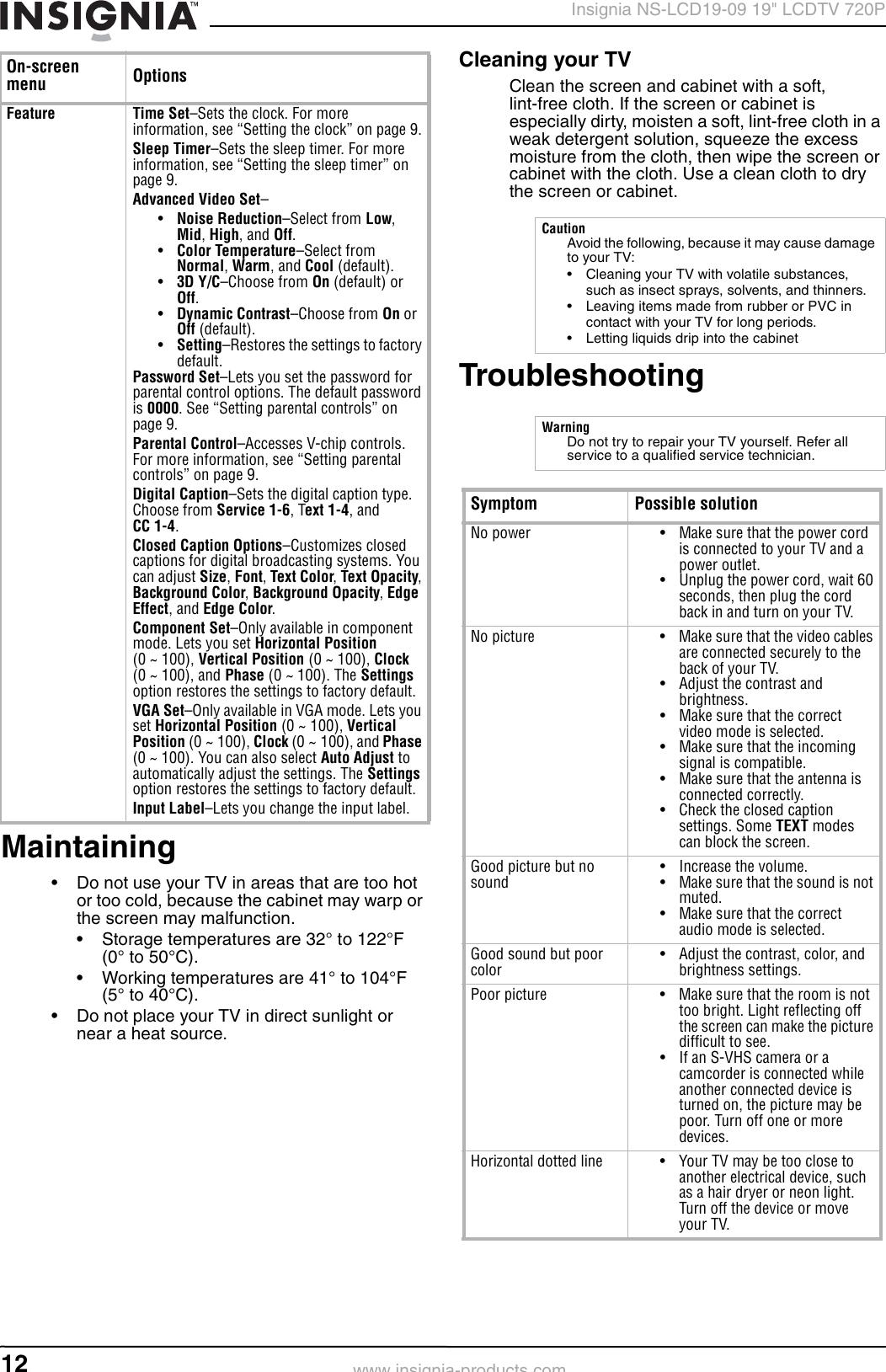 Insignia NS LCD19 09 User Manual To The C439dee2 f730 4e6e