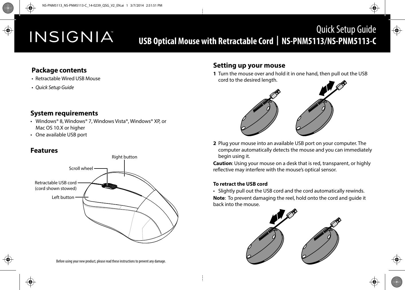 Insignia Ns Pnm5113 C 14 0239 Qsg V2 En User Manual To Usb Optical Mouse Wiring Diagram The 720515e6 Dec5 4bf5 Be71 A0f64fe69ff6