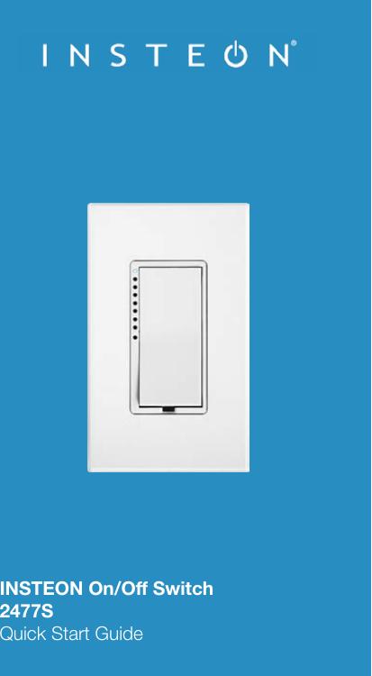 Insteon 2477S Users Manual