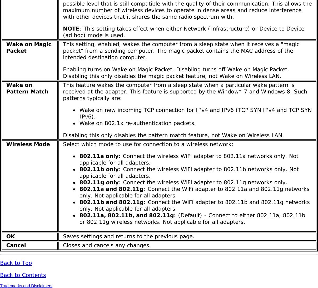 Intel 9560NG Intel Dual Band Wireless-AC 9560 User Manual