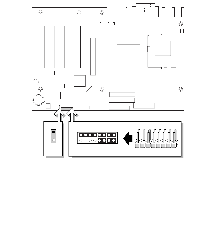 Intel D815eea Desktop Board Product Guide User Manual To The Diagrams Identify Main Components Of Intelr