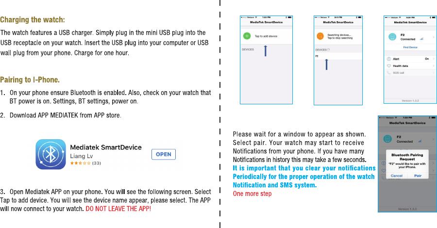 Intelligent Galaxy GATSBY Smart watch User Manual IG 04