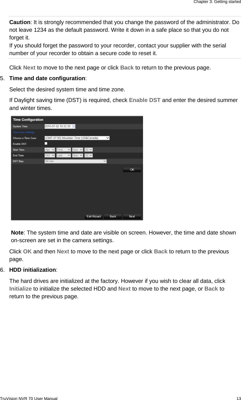 InterLogix 1073062B Truvision Nvr 70 User Manual En