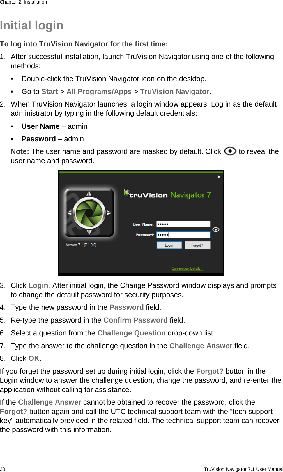 InterLogix 1073272B Truvision Navigator 7 1 User Manual En 7 1