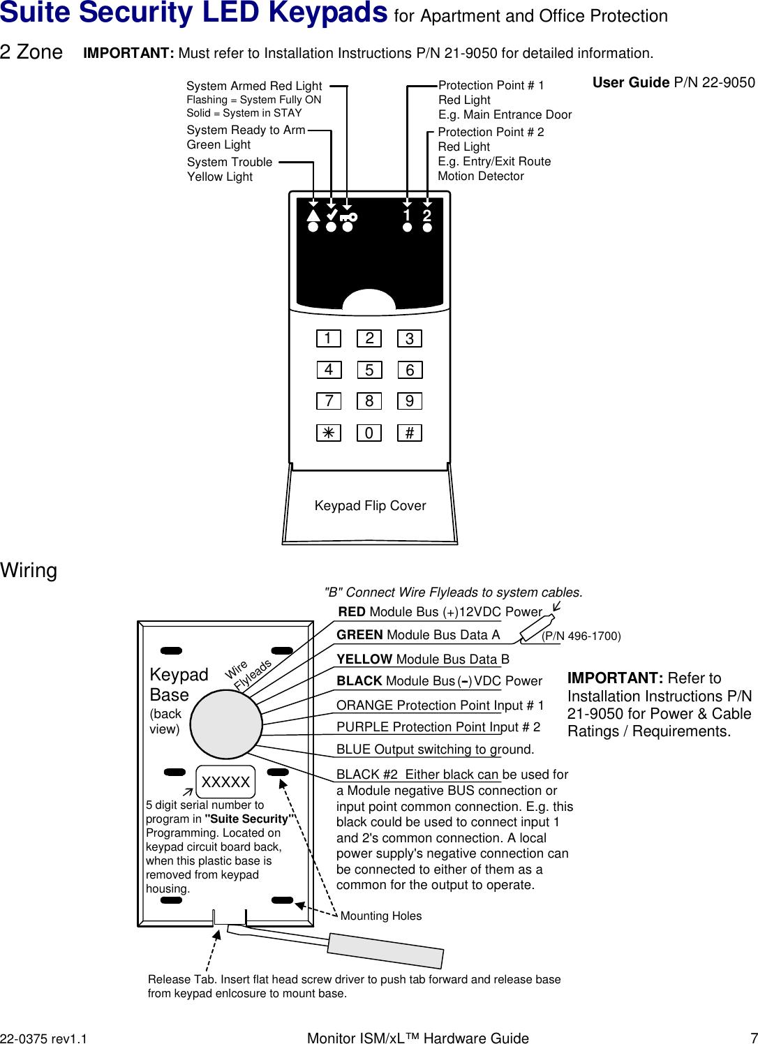 Monitor ISM/xL™ Hardware Guide 22 0375v1 1 ISM x L Hrdwr Gd9 06 on