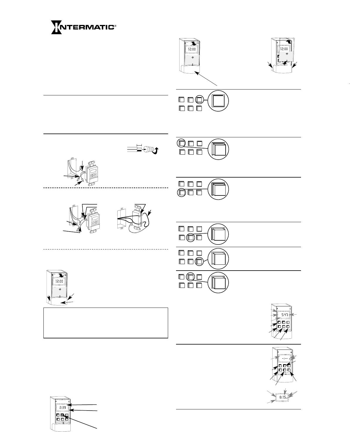 Intermatic Light Timer Ss7c Manual Manual Guide