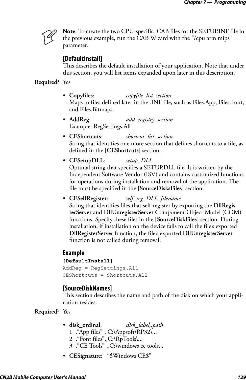 Intermec Technologies 2610CF 2610CF User Manual CN2Busermanual