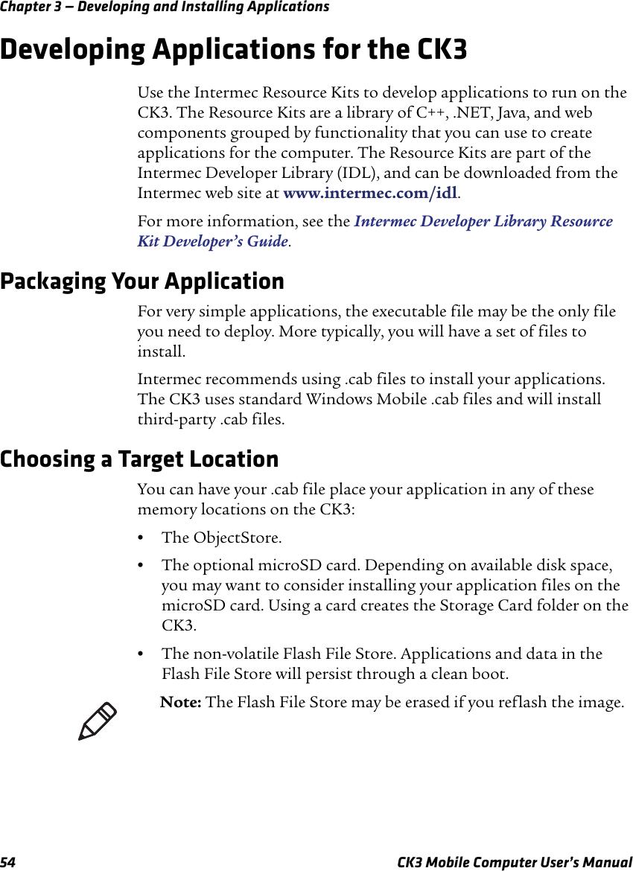Intermec Ck3A Users Manual