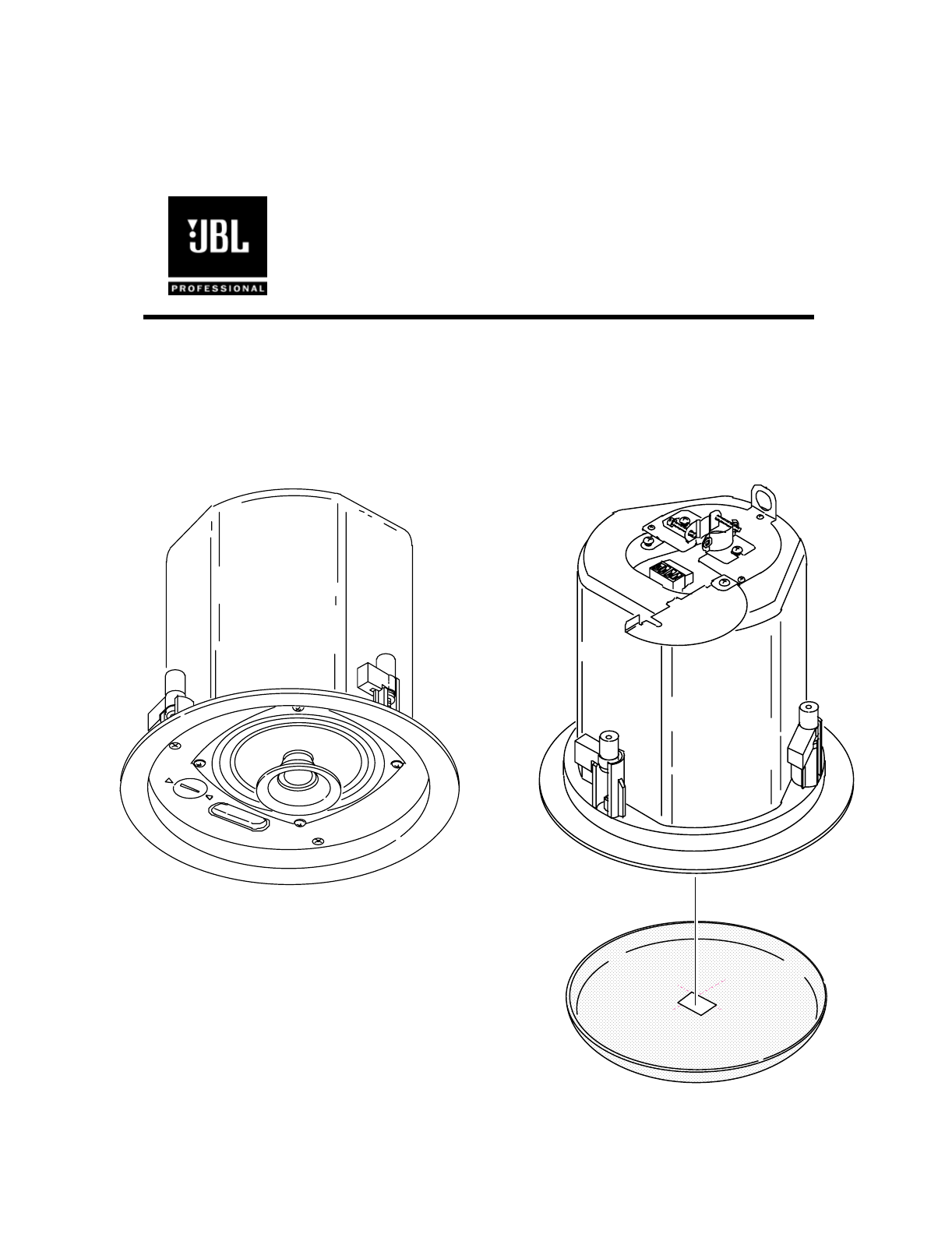 Jbl Ceiling Speaker Owners Manual Text Control Contractor