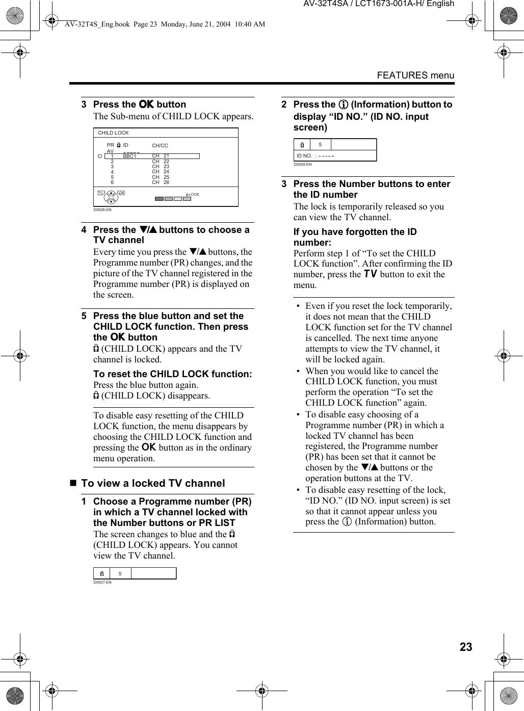 JVC AV 32T4SA User Manual LCT1673 001A H