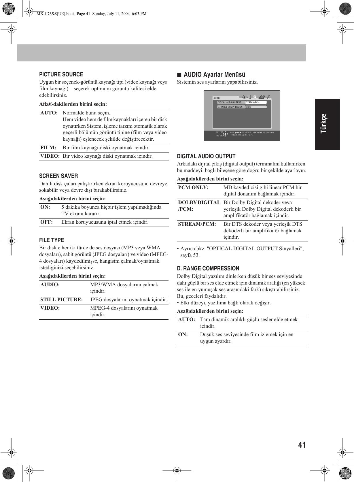 JVC CA MXJD5UE Cover[UE] User Manual GVT0127 003A