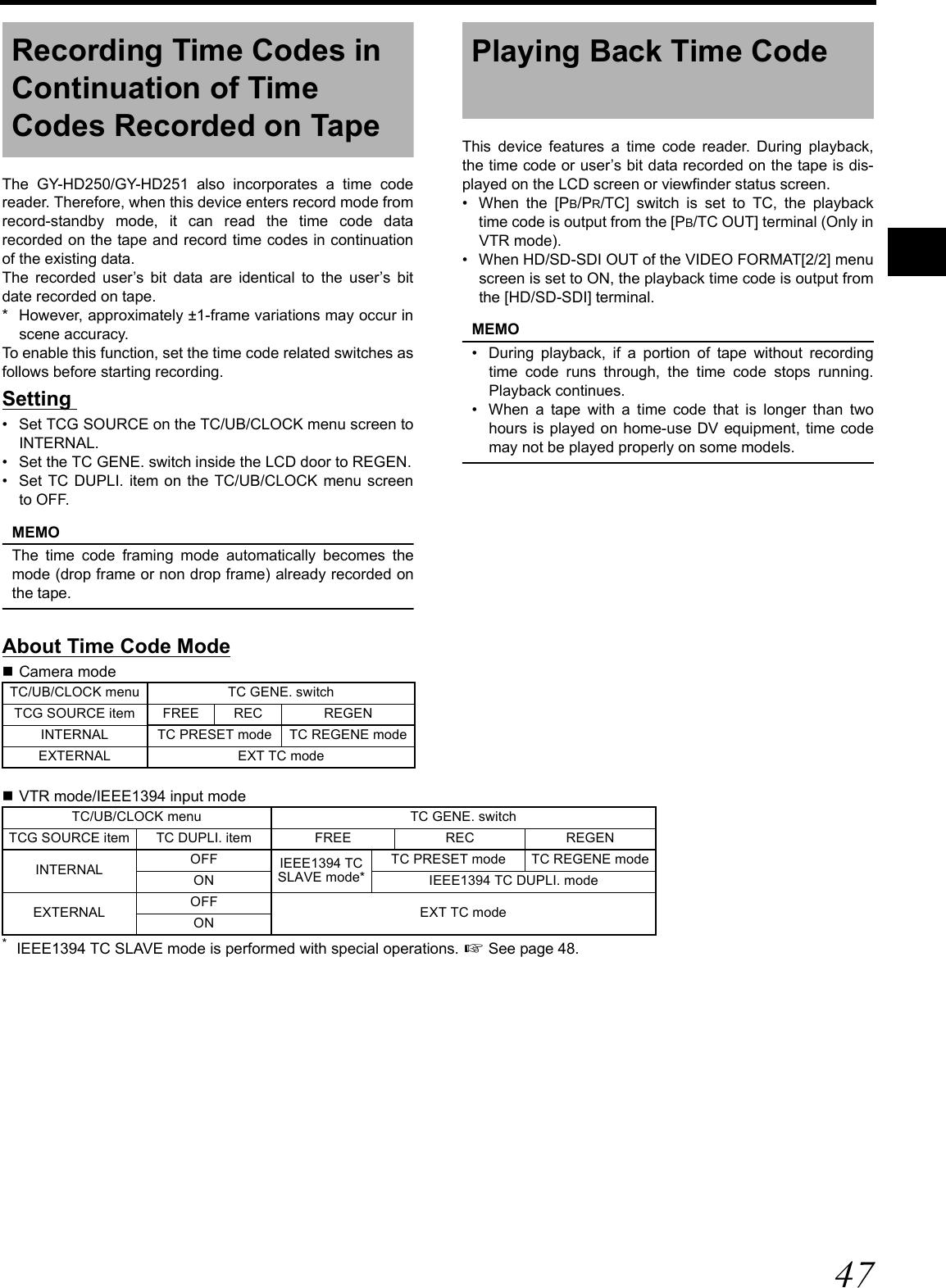 JVC GY HD250/251 H250 User Manual LST0440 001B H