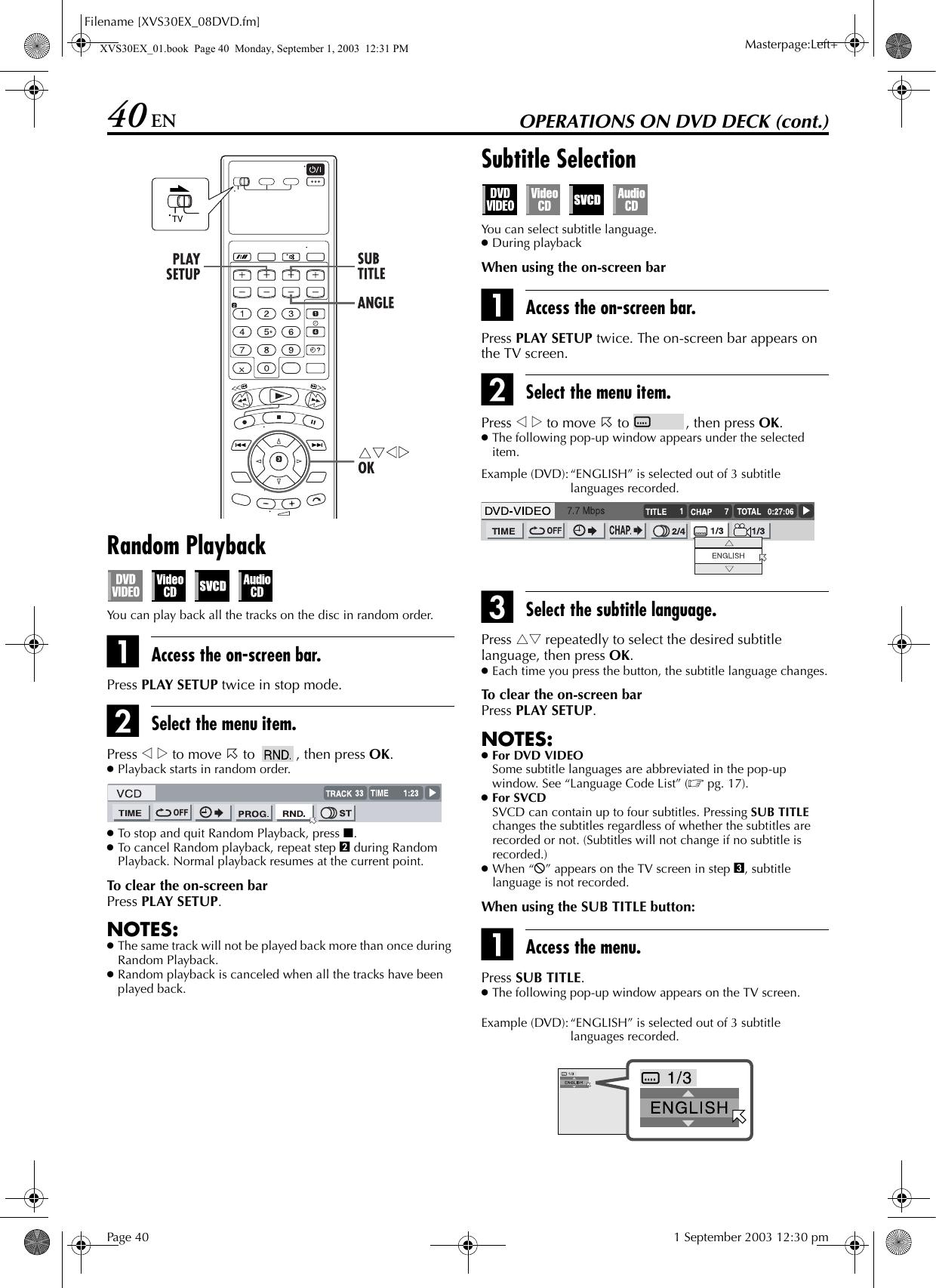 JVC HR XVS30E User Manual LPT0860 001A
