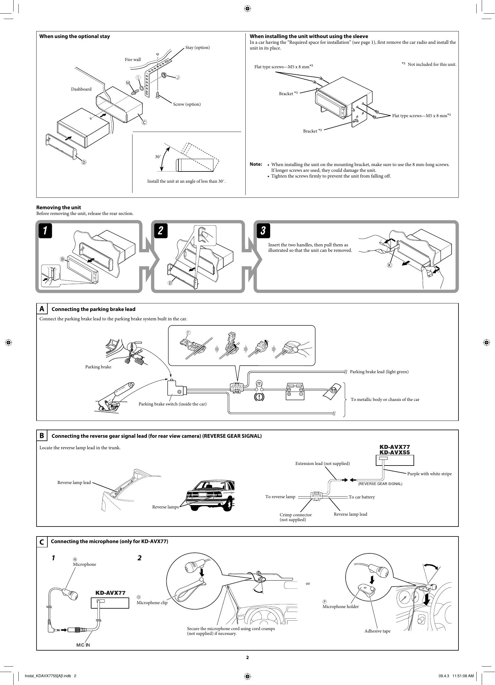 [DIAGRAM_38IS]  JVC KD AVX55A AVX77/KD AVX55 User Manual AVX55A, AVX77A LVT1938 012A | Jvc Kd Avx77 Wiring Diagram |  | UserManual.wiki