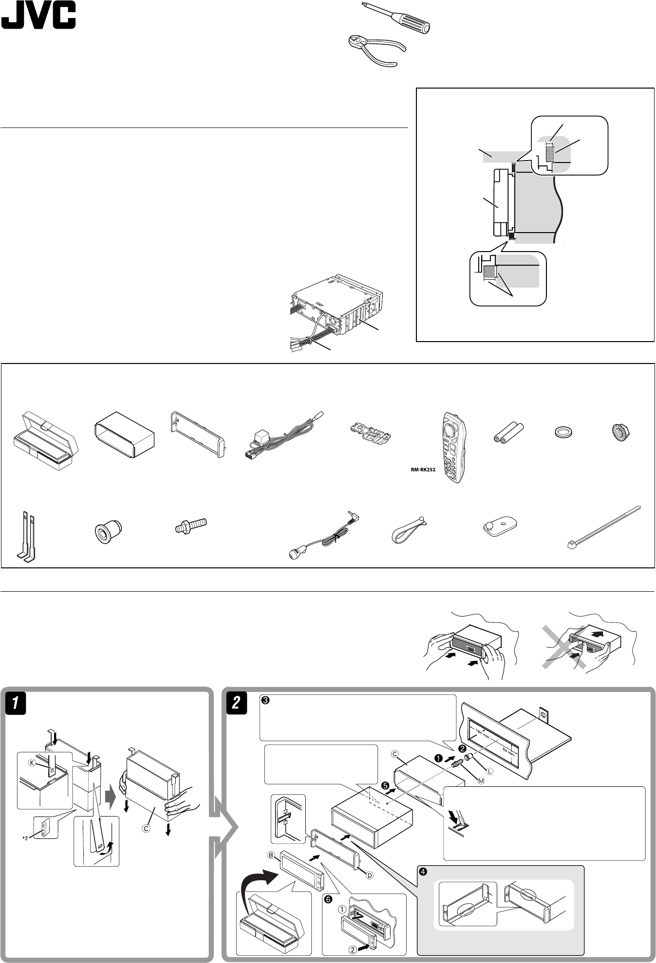 [TBQL_4184]  JVC KD AVX55A AVX77/KD AVX55 User Manual AVX55A, AVX77A LVT1938 012A | Jvc Kd Avx77 Wiring Diagram |  | UserManual.wiki