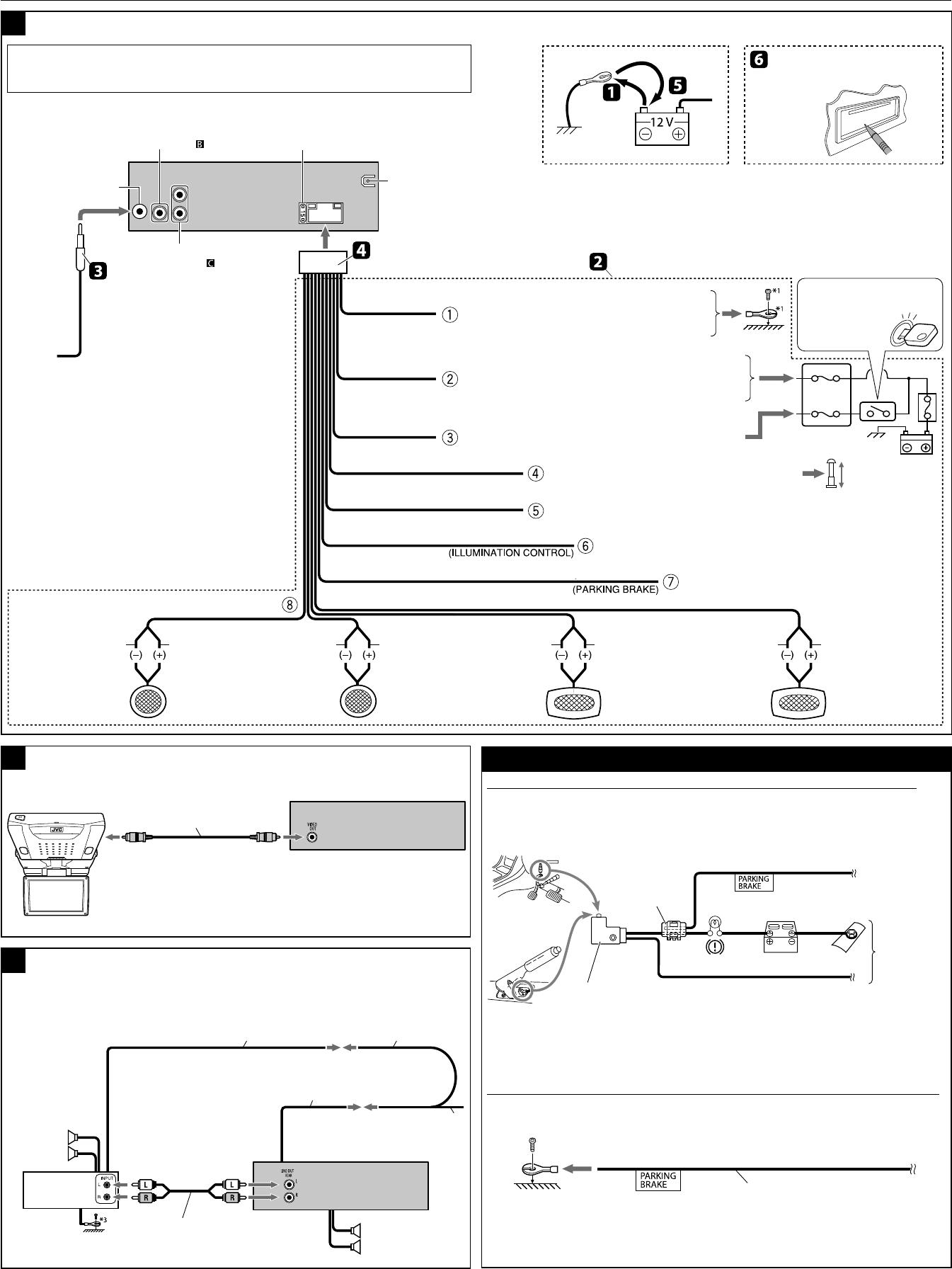 Jvc Kdx 200 Wiring Diagram - Wiring Diagram