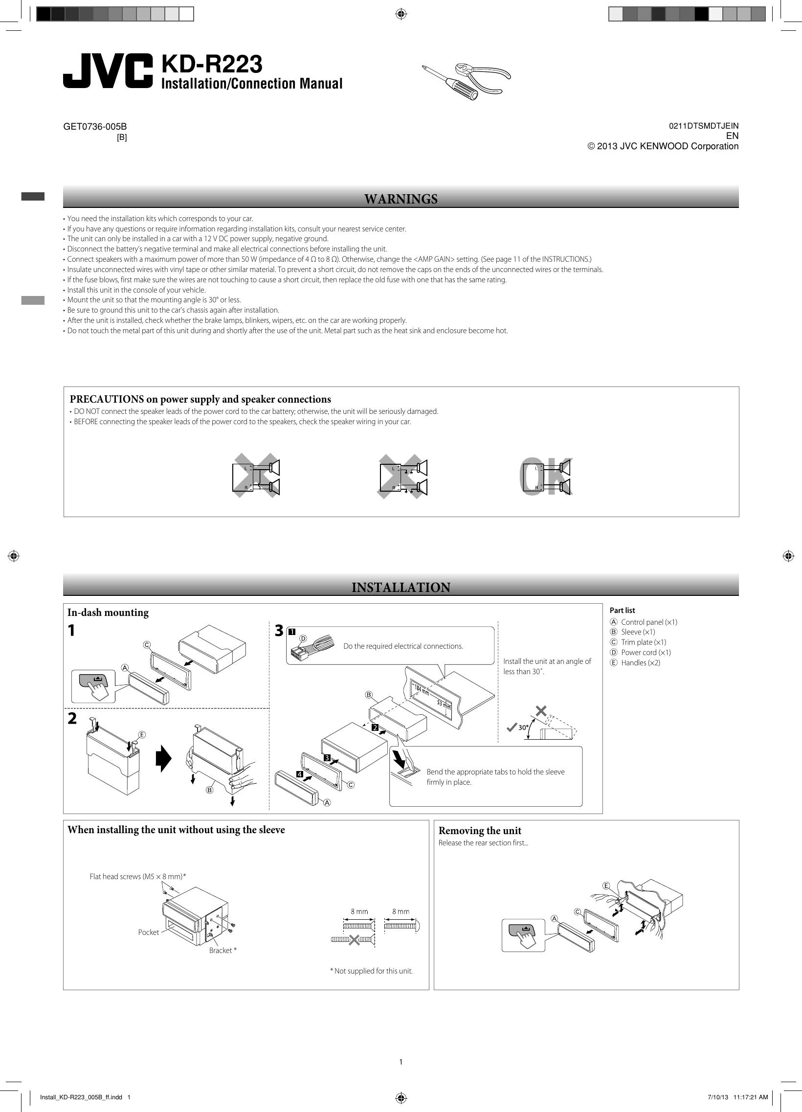 Jvc Miswiring Check Wiring Reset Trusted Diagrams Kw Av60bt Diagram Kd R223b Install R223 005b Ff User Manual Get0736 R330