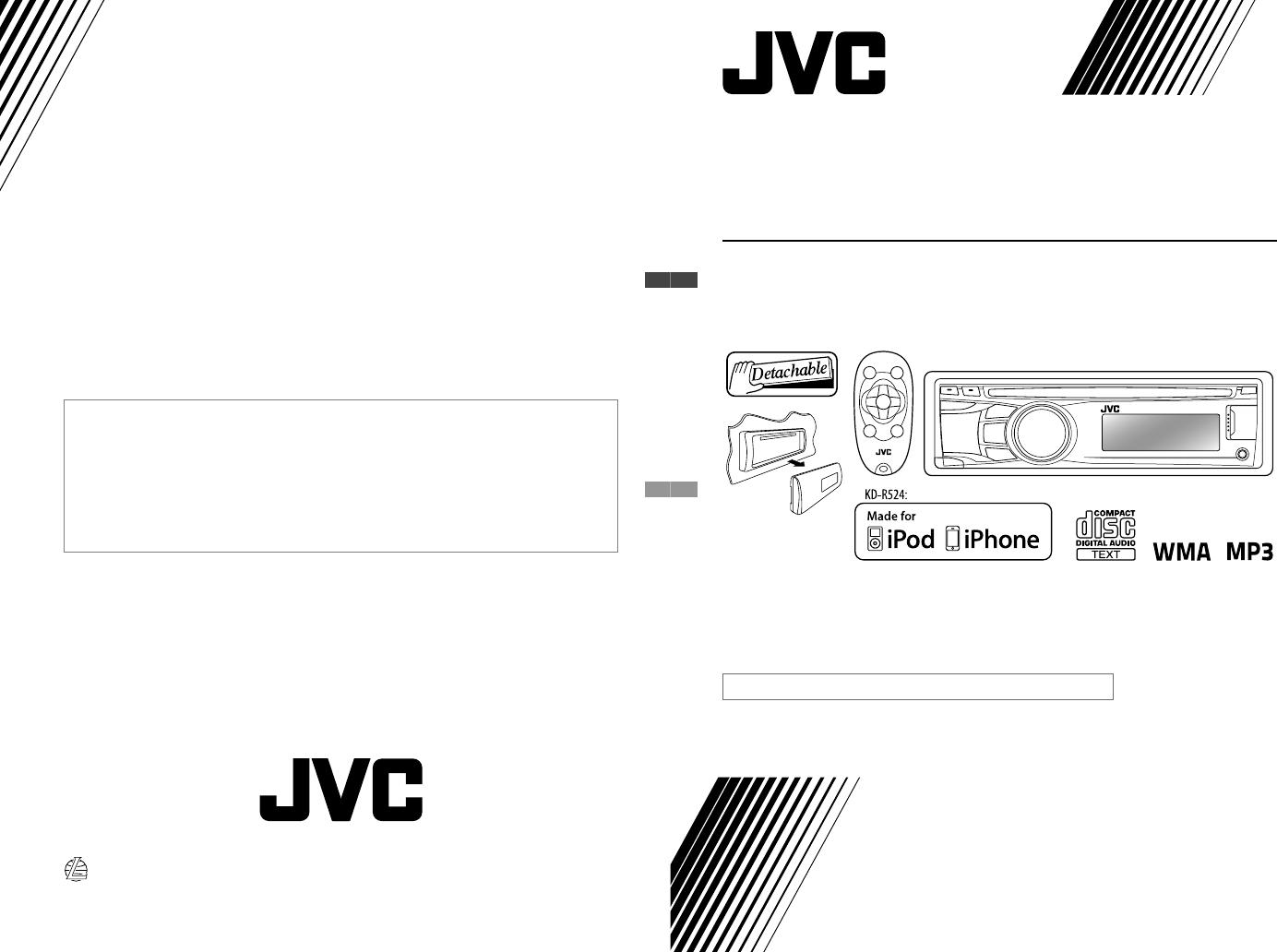 JVC KD R424UI CoverRear_KD R524[UI]f User Manual GET0703 001AUserManual.wiki