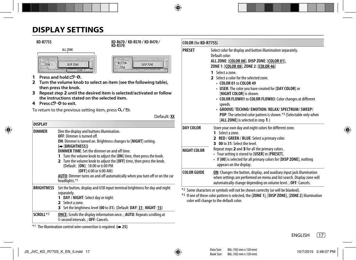 JVC KD R775SK KD_R775S_K User Manual B5A 0807 00 Radio Wiring Diagram For Jvc Ks R on