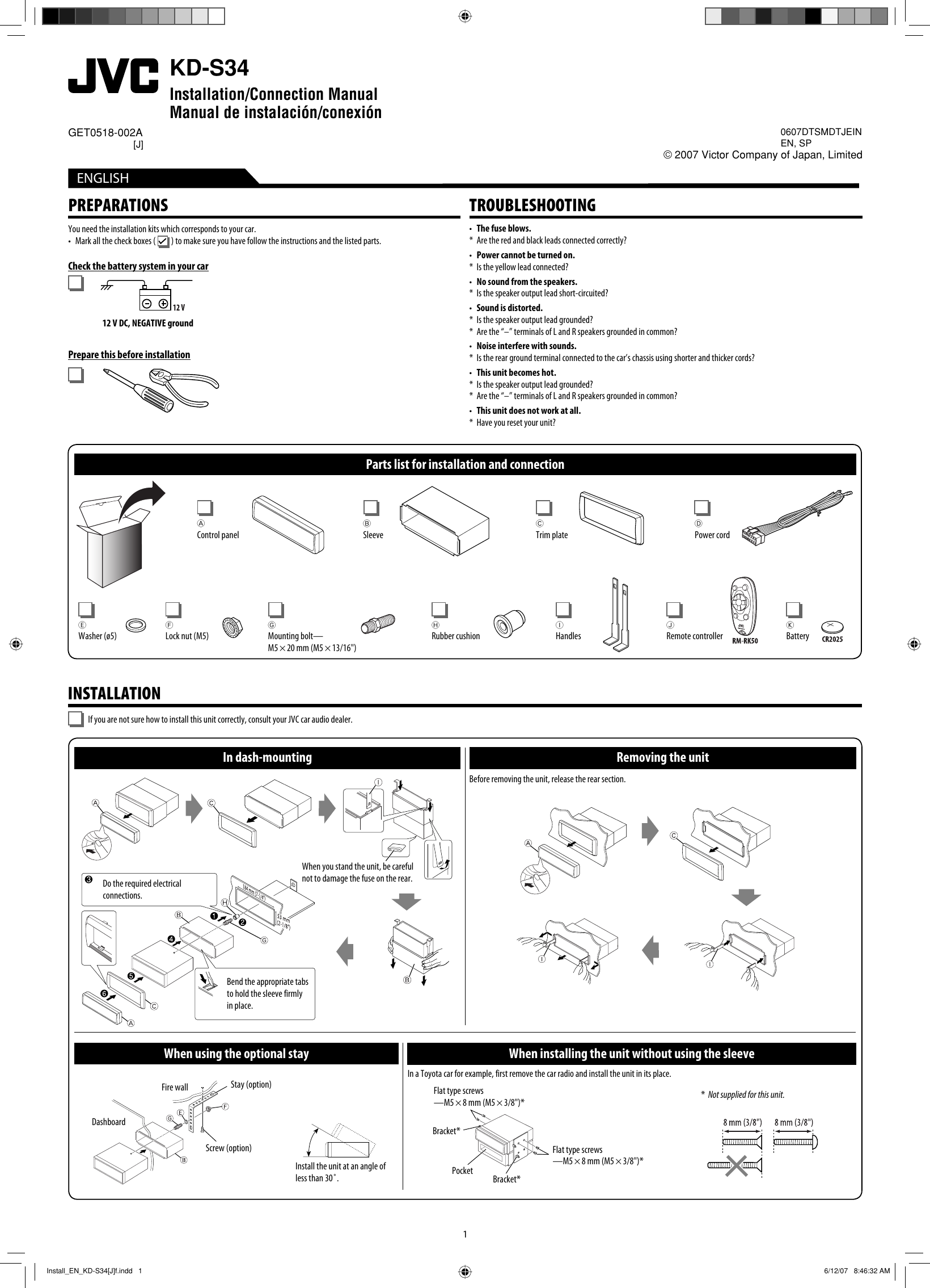 Jvc Kd S37 Car Stereo Wiring Diagram Electrical Diagrams Harness Colors Manual Various Owner Guide U2022 Color Codes