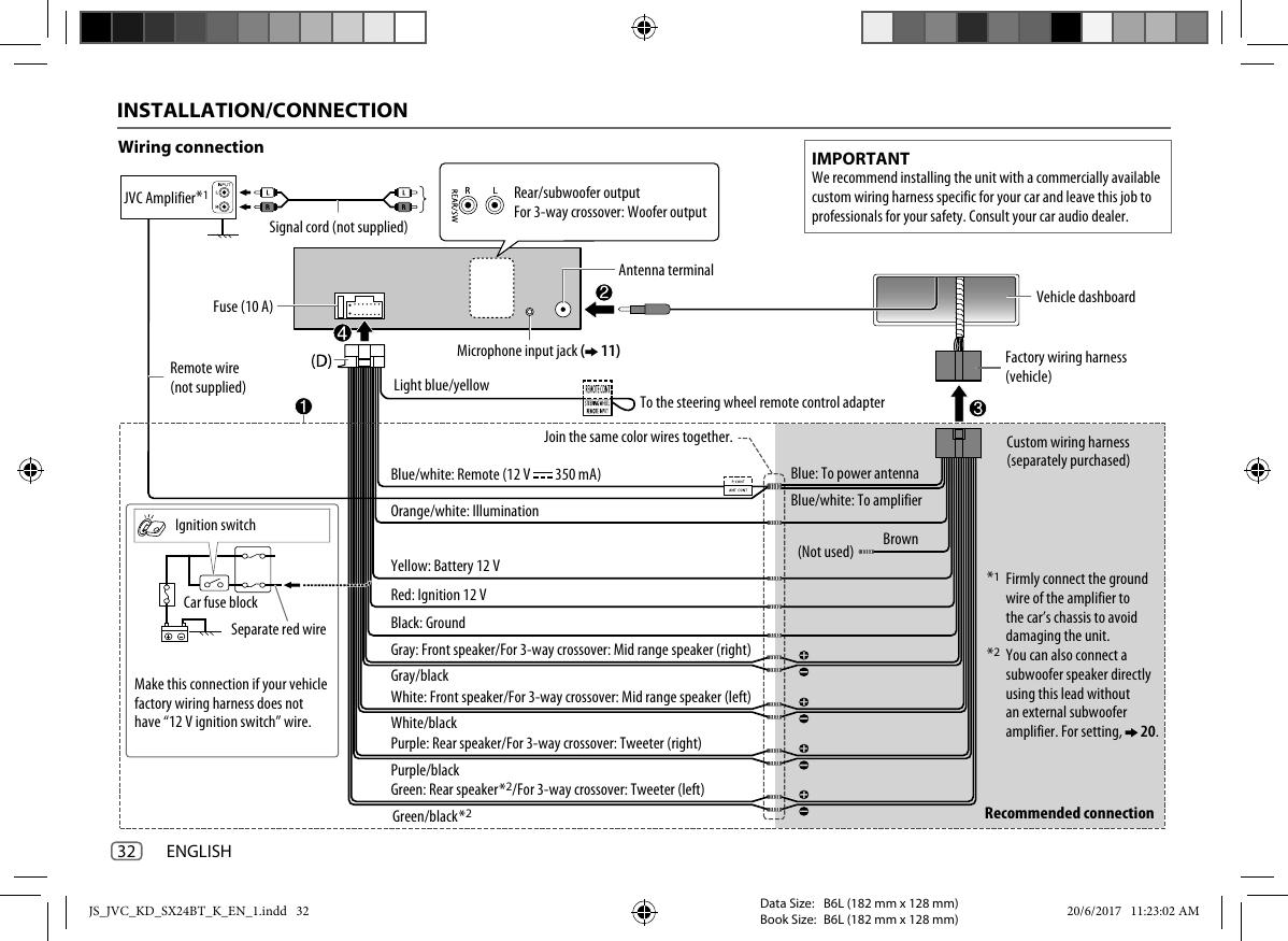 JVC KD SX24BT KD_SX24BT_K User Manual B5A 2255 00 Jvc Kd Sx Bt Wiring Diagram on