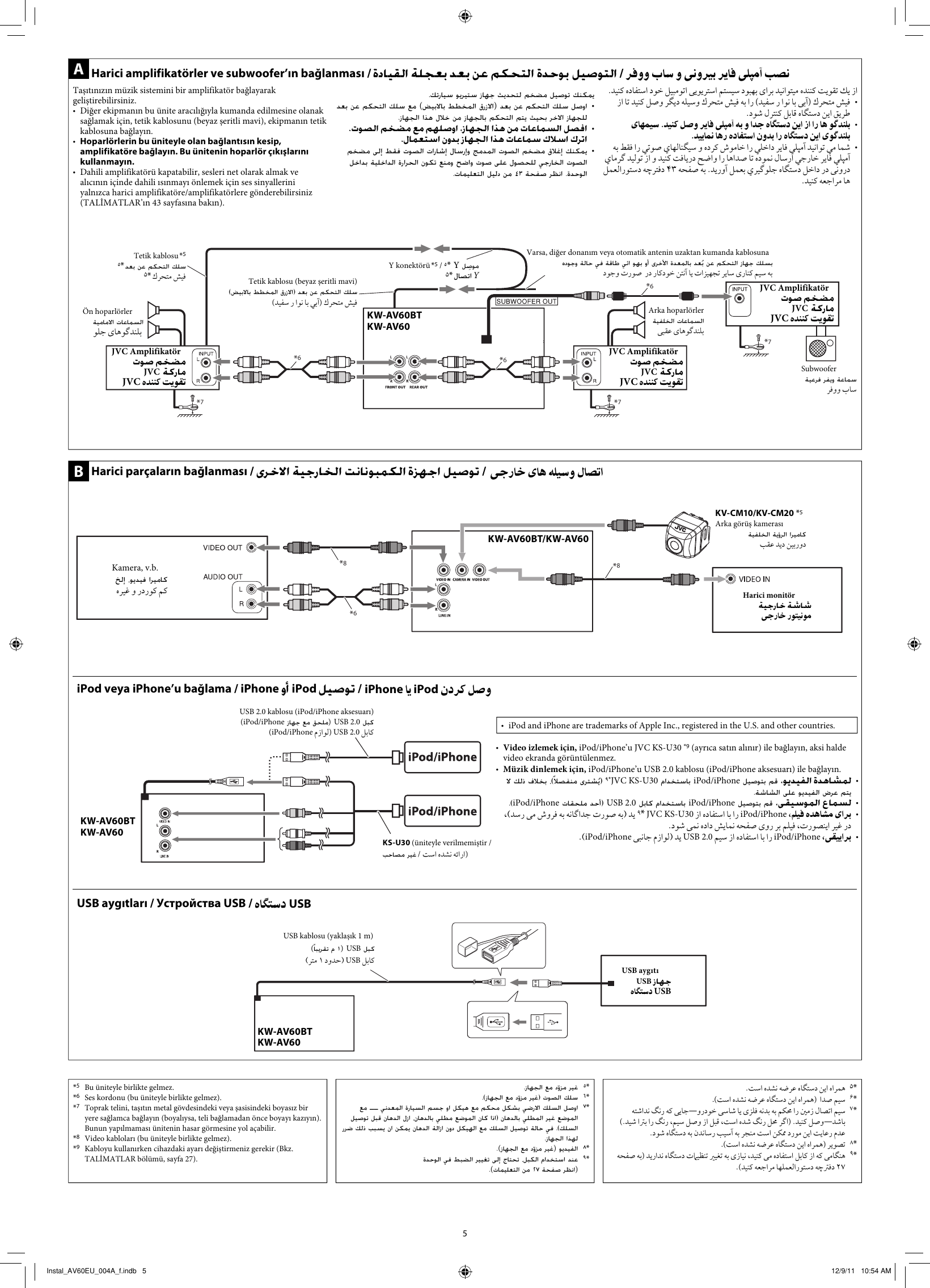 Wiring Diagram Jvc Kw Av60bt Electrical Diagrams Av60bteu Av60eu User Manual Installation Polk Audio