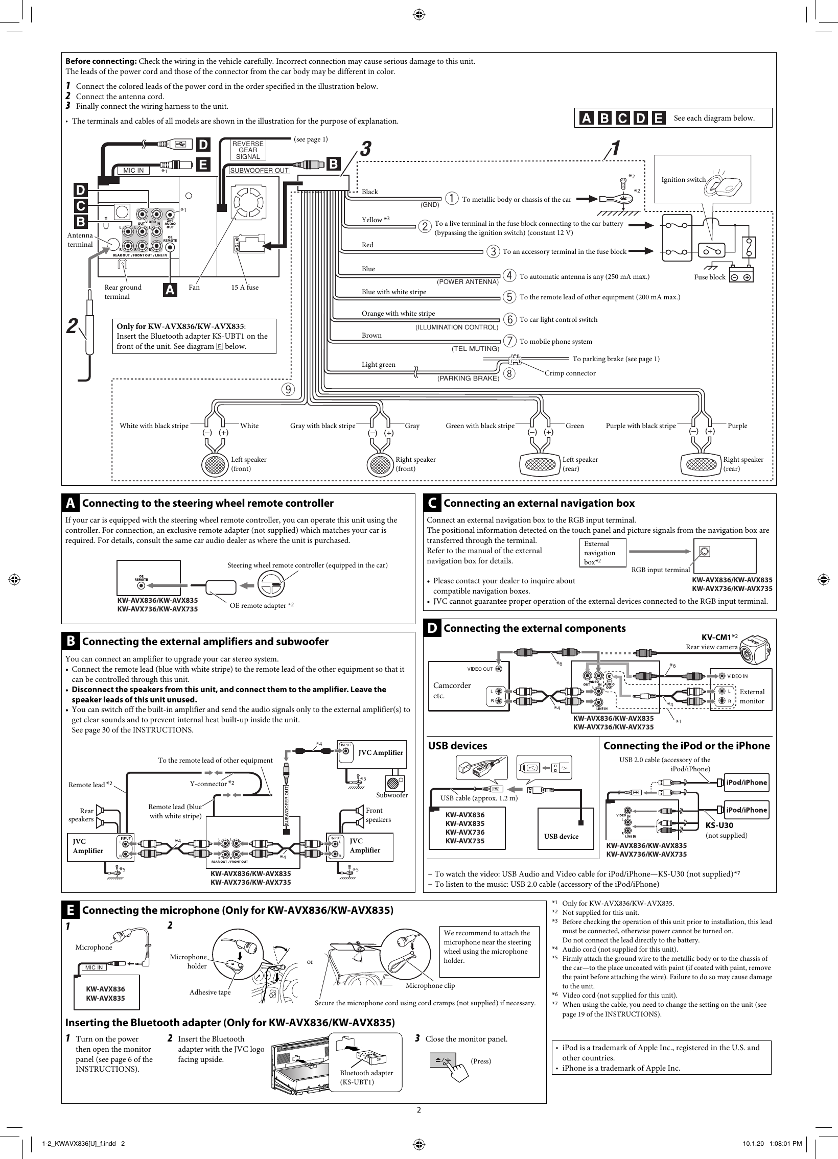 jvc kw r500 wiring harness diagram