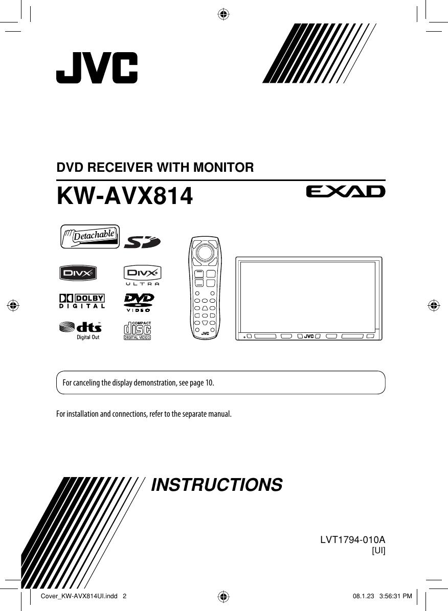 JVC KW AVX814UI EN_KW AVX814UI User Manual LVT1794 010A