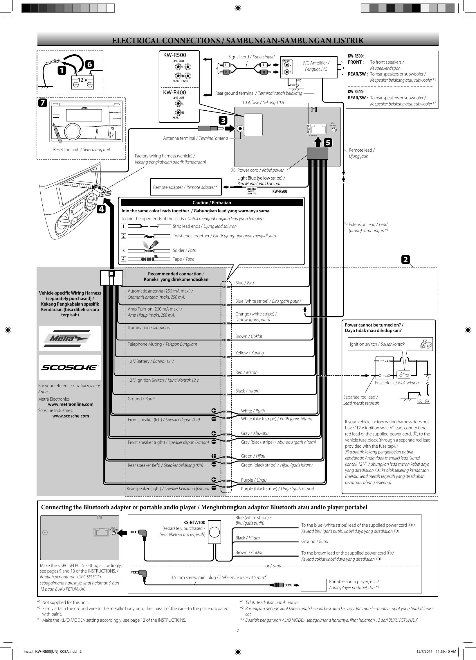 Jvc Kw Av50 Wiring Diagram from usermanual.wiki