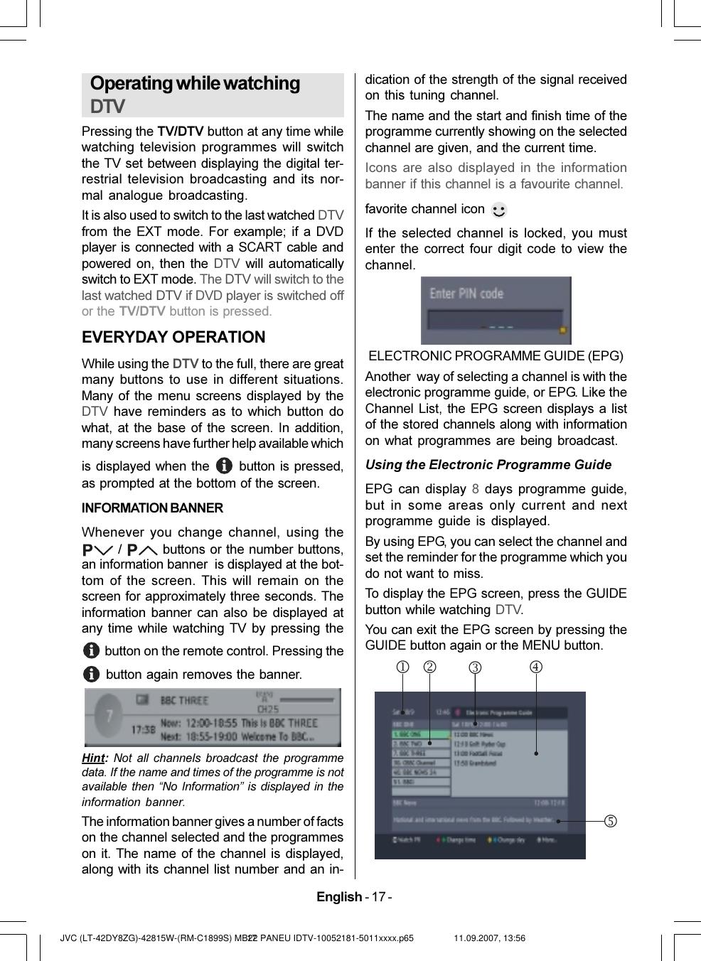 JVC LT 42DY8ZG User Manual 50112535 EN