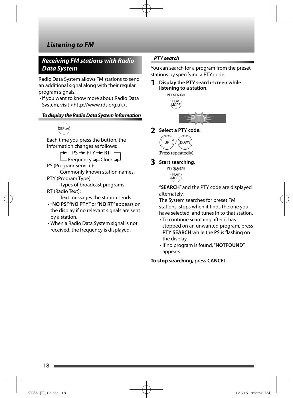 JVC NX SA1BB SA1[B] User Manual SA1BB, SA1RB, SA1WB LVT2353 002A