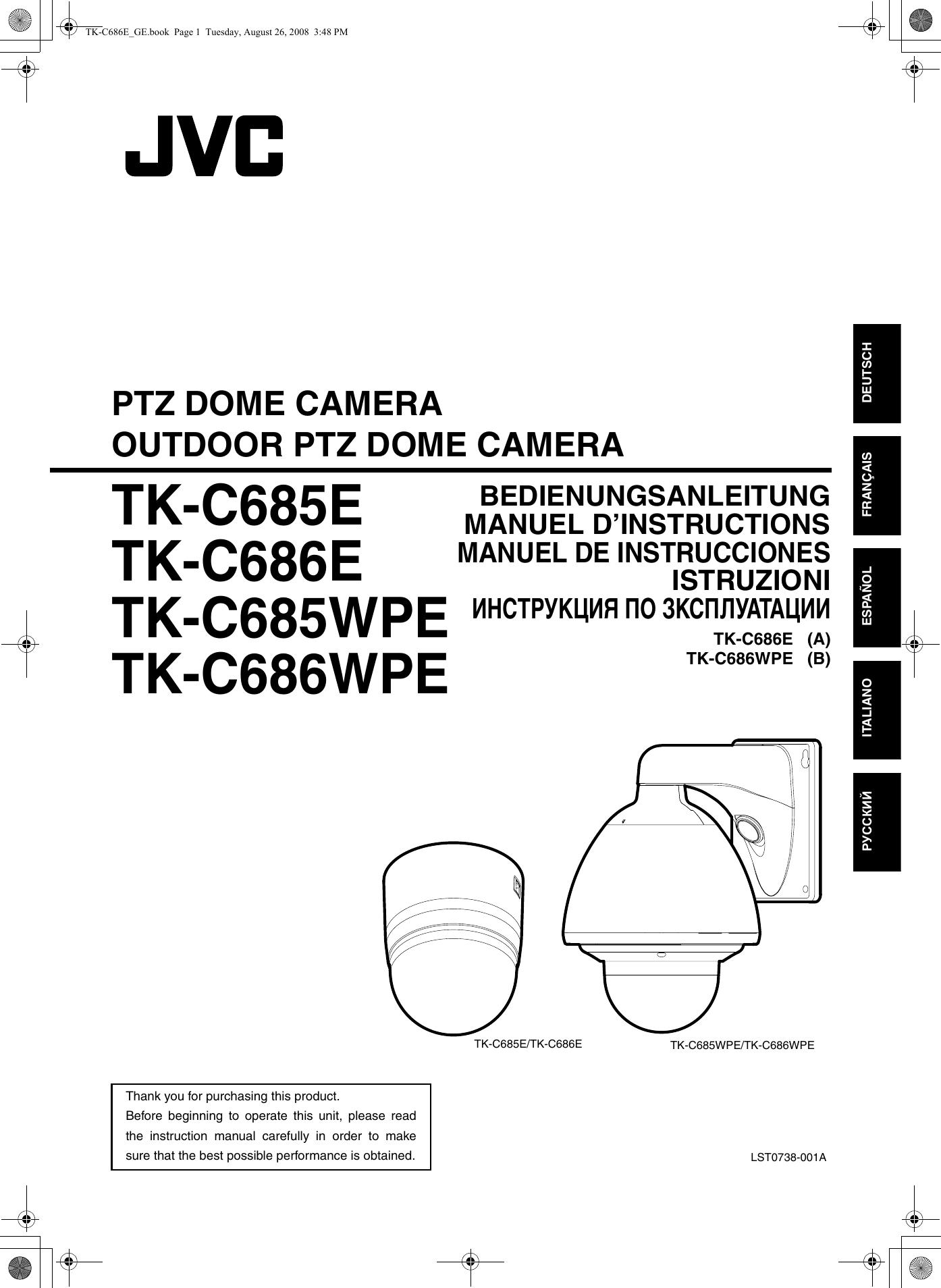 jvc tk c685e c685e c685wpe c686e c686wpe user manual c685e c685wpe
