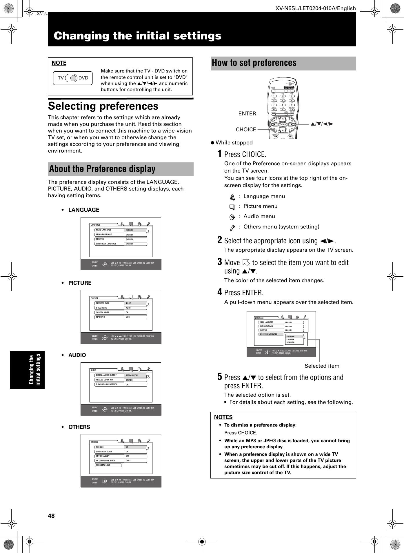 JVC XV N5SL N5SL_A User Manual LET0204 010A