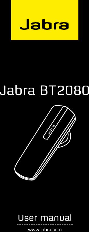 7126c2438de8a Jabra Bt2080 Users Manual
