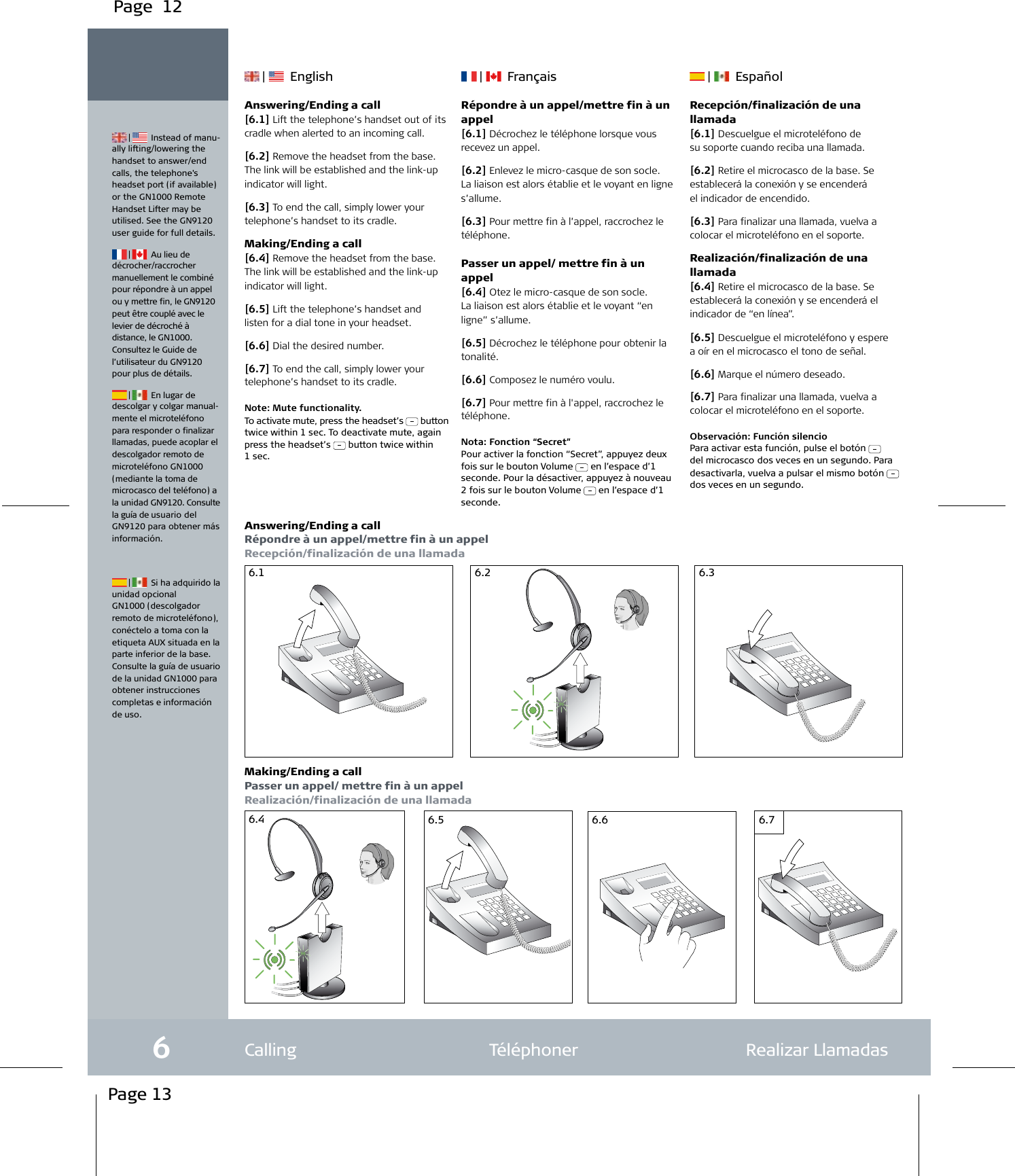 Jabra Gn9120 Users Manual