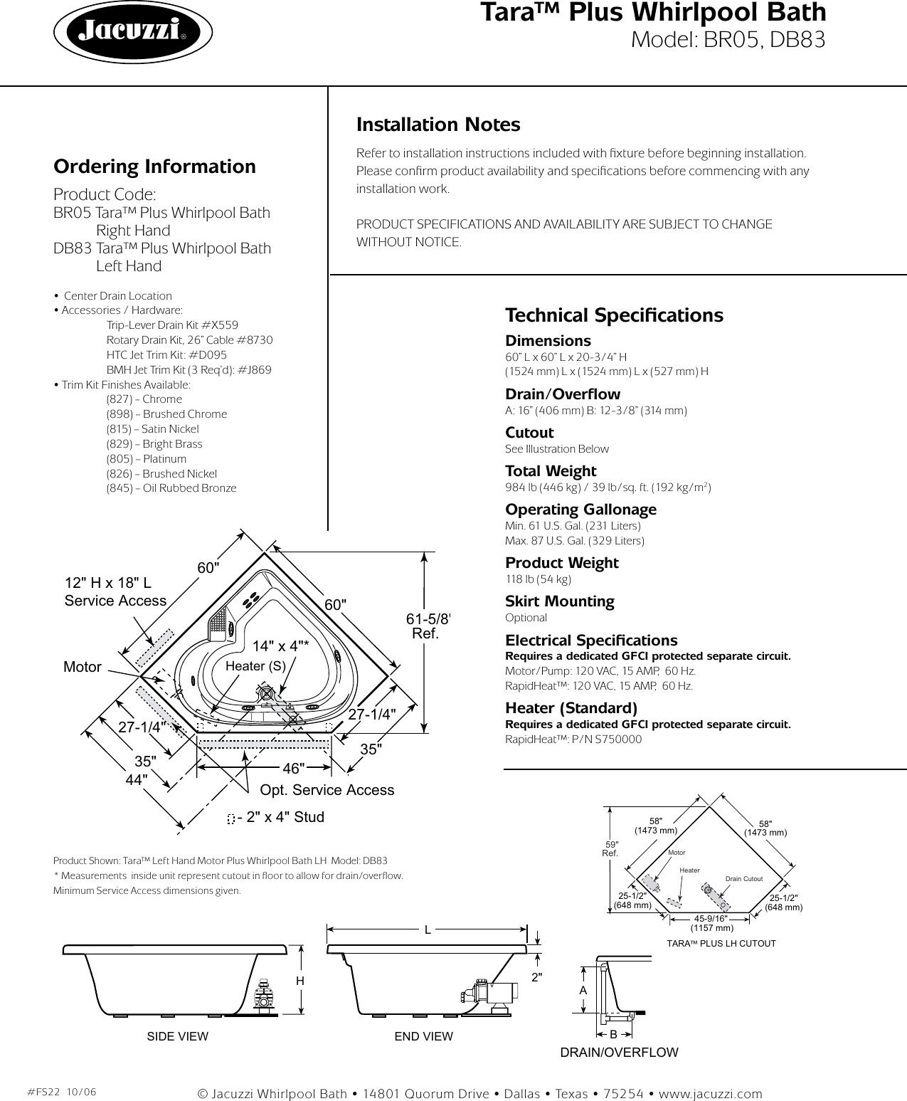 Jacuzzi BR05 User Manual To The 4adee5fc 781e 485a 94a9 ... on