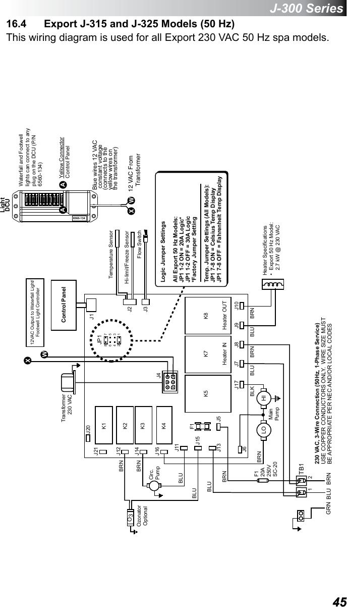 Jacuzzi Light Wiring Diagram - Schematic Wiring Diagram on