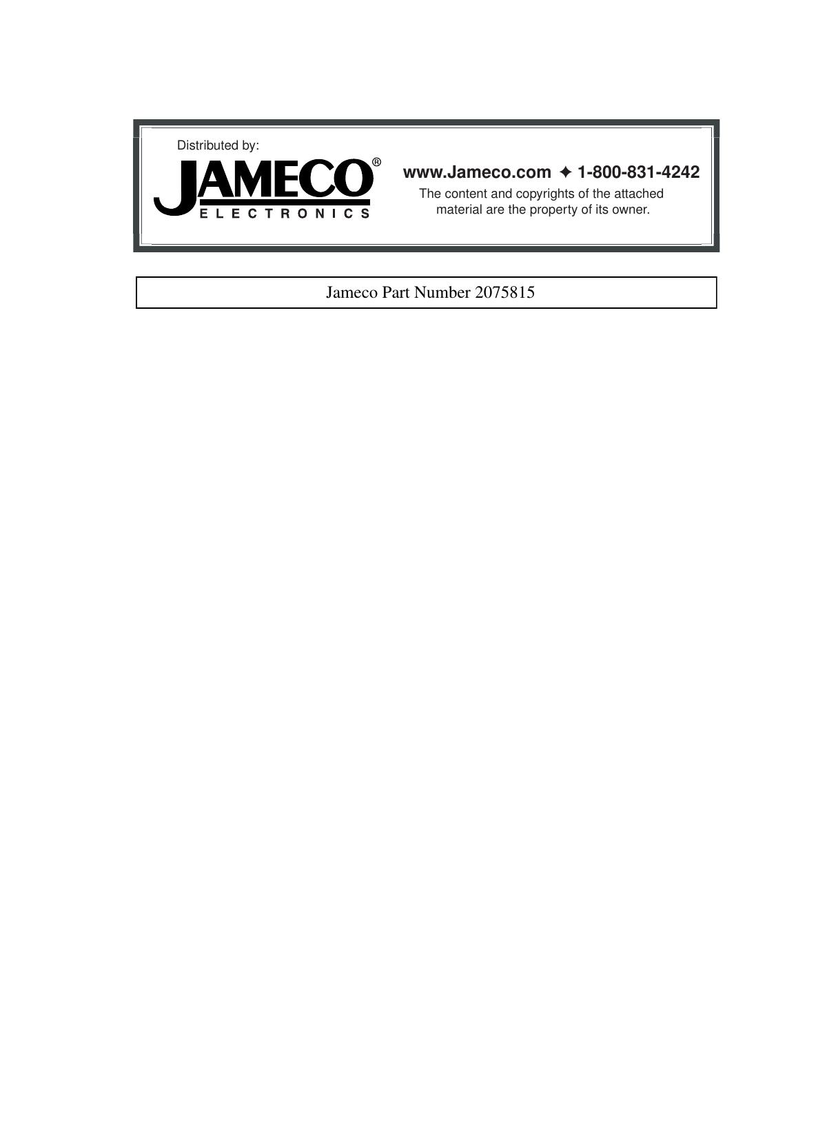 jameco electronics philishave 545 users manual rh usermanual wiki Swan Electronics Future Electronics