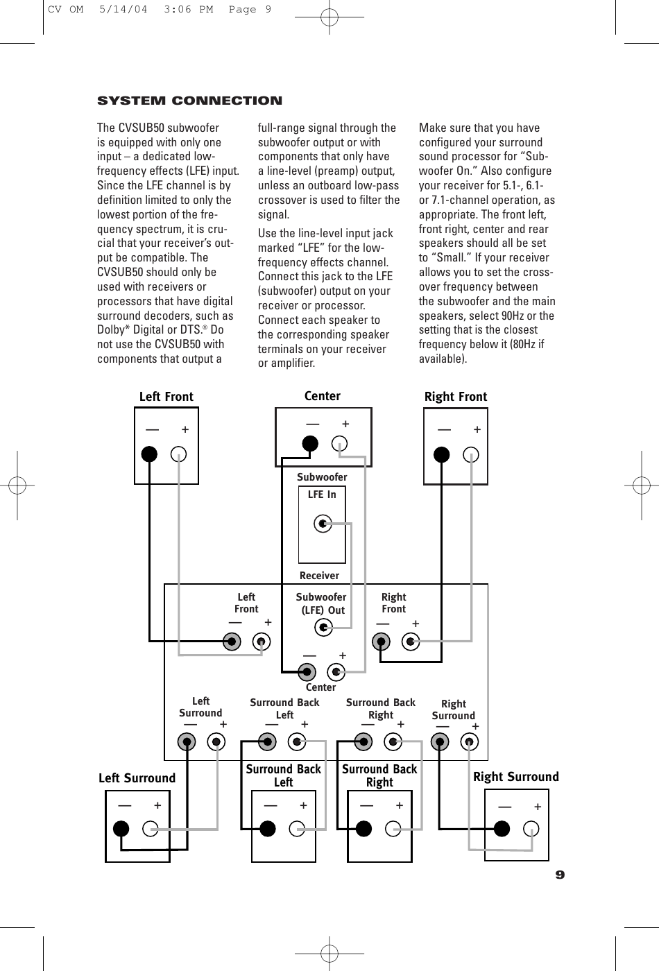Jbl Cvcen50 Users Manual Scs3007 Om Advent Speaker Crossover Schematic Diagrams Page 9 Of 12 Scs300