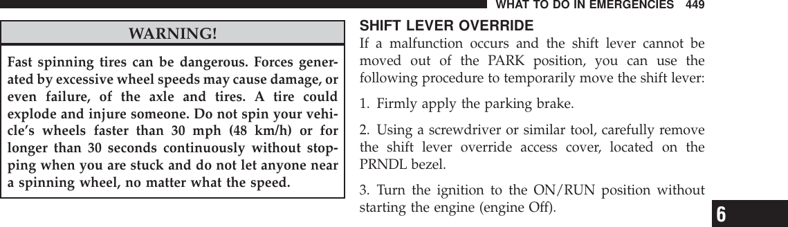 Jeep 2012 Liberty Owners Manual Owner's