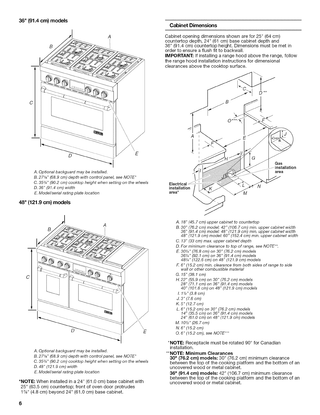 Jenn Air Jdrp536wp00 User Manual Dual Fuel Range Manuals And Guides Stove Top Wiring Diagram 36 914 Cm Models