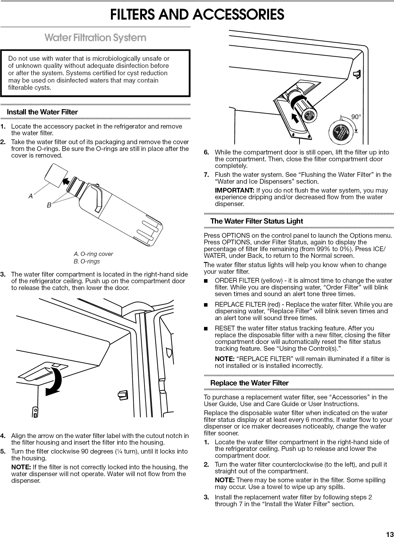 Jenn Air JFX2897DRM00 User Manual REFRIGERATOR Manuals And Guides