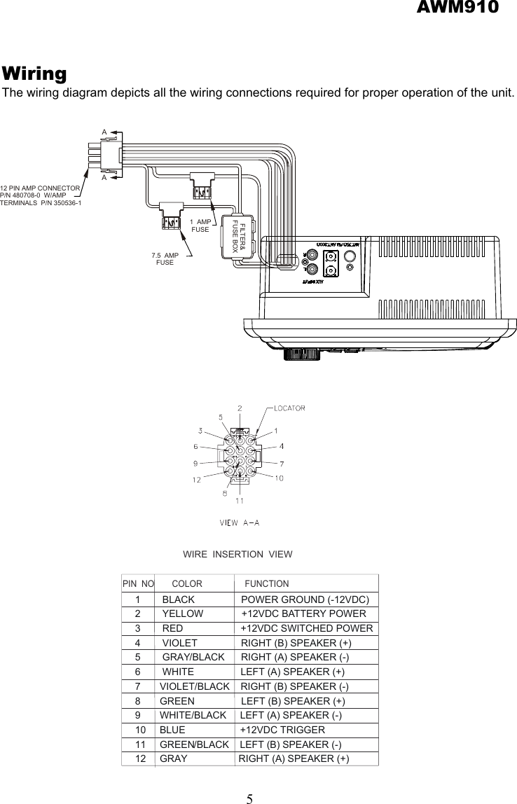 Jensen Awm910 Users Manual B on equalizer circuit diagram, car audio diagram, equalizer and amp diagram, equalizer amp wiring, equalizer schematic,