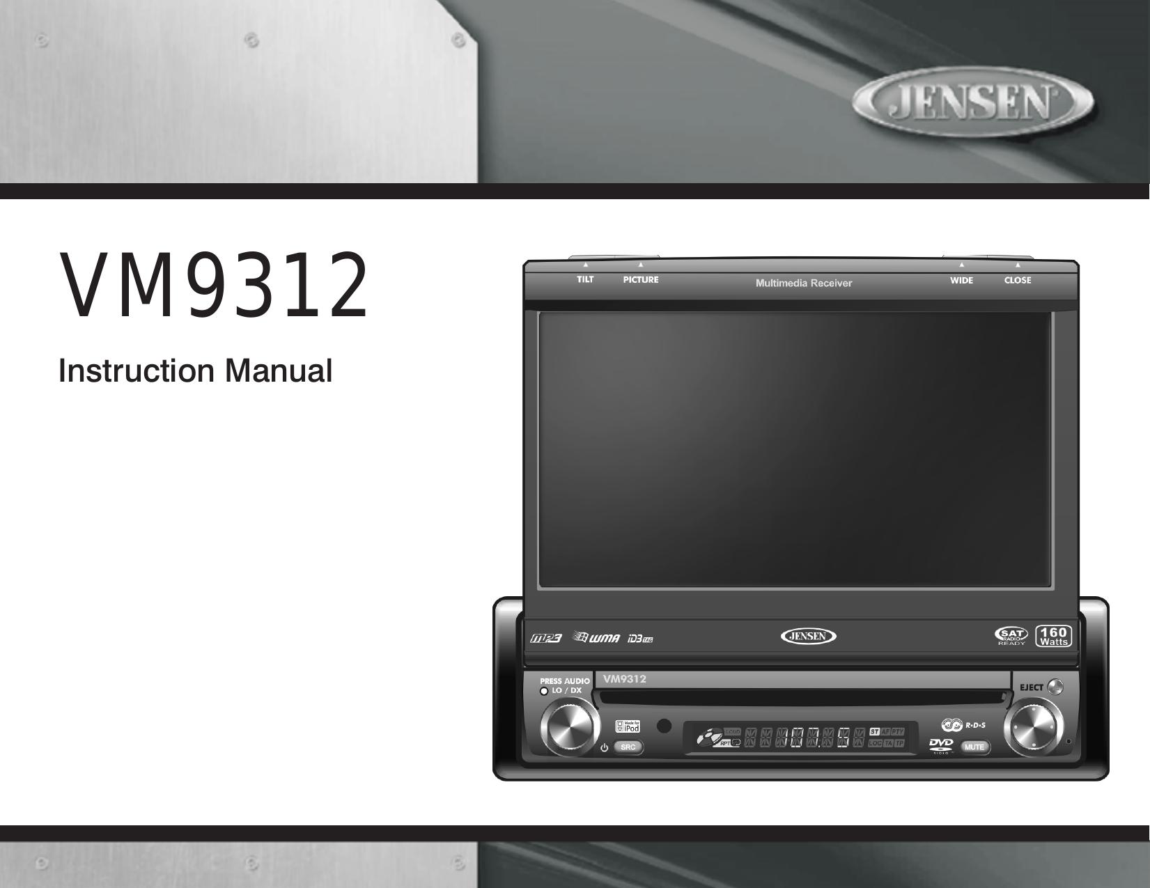 Phase Linear Car Radio Wiring Diagram Automotive Stereo For Jensen Uv8 Vm9311ts Bose Speaker Diagrams