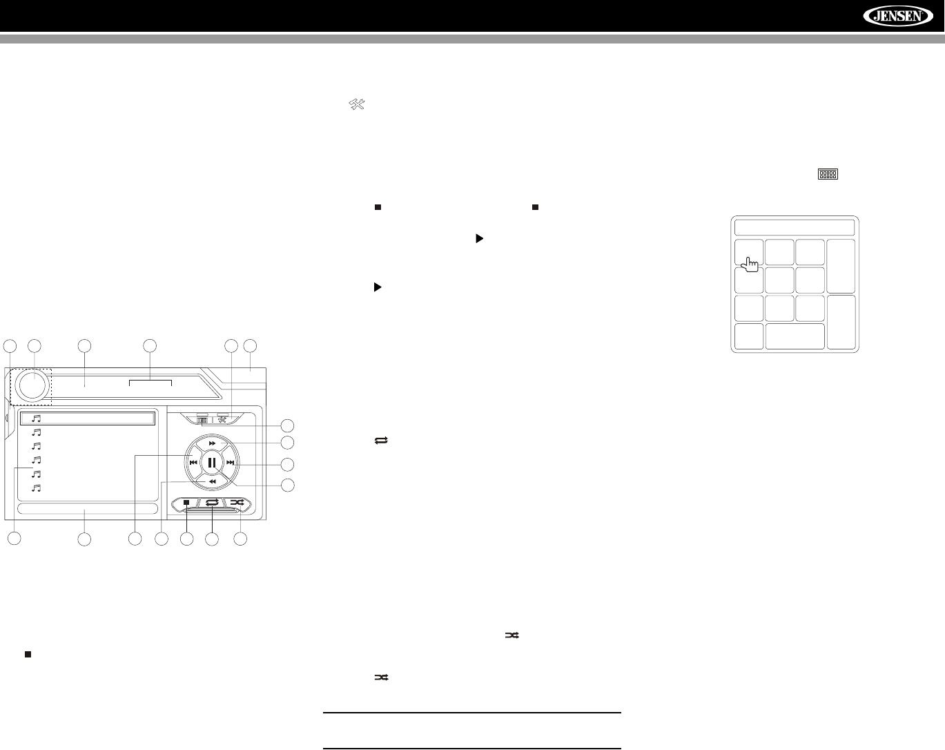 Jensen Vm9412 Users Manual 16 Pin Wiring Harness Diagram 25