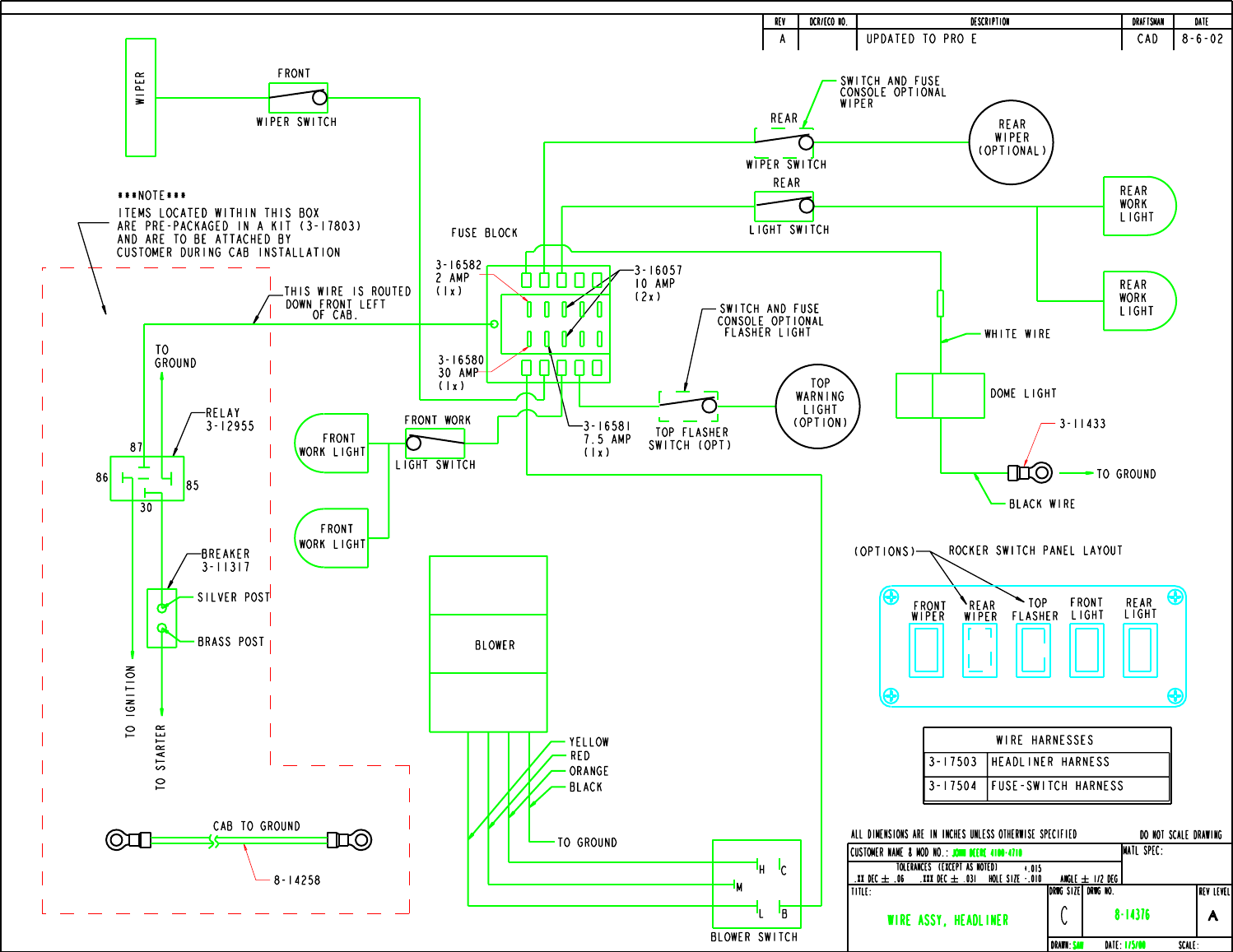 John Deere Products And Services Cab A 11170 Users Manual Jd 4100 185 Wiring Schematic Page 26