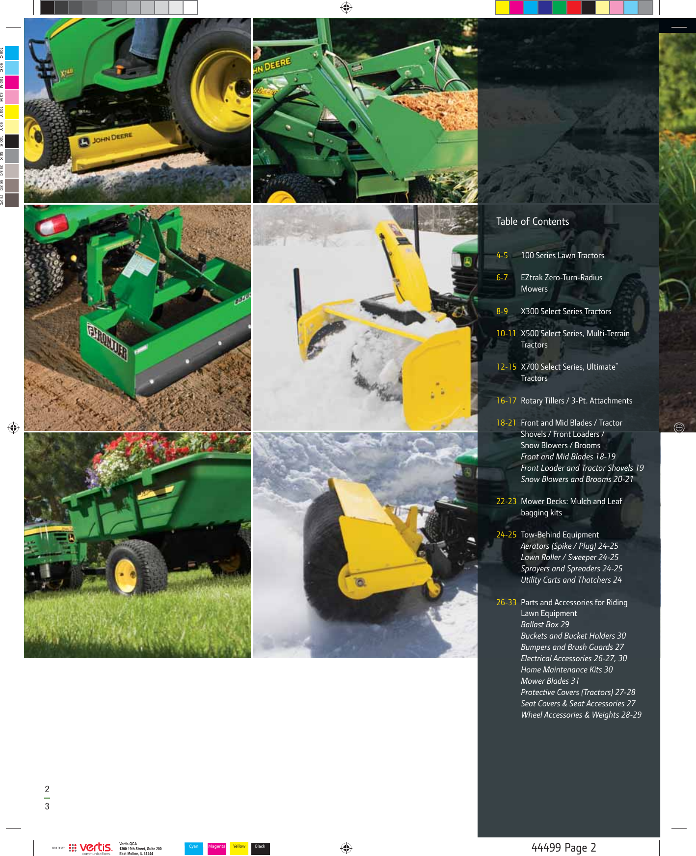John Deere Products And Services Select Series Eztrak Zero Turn