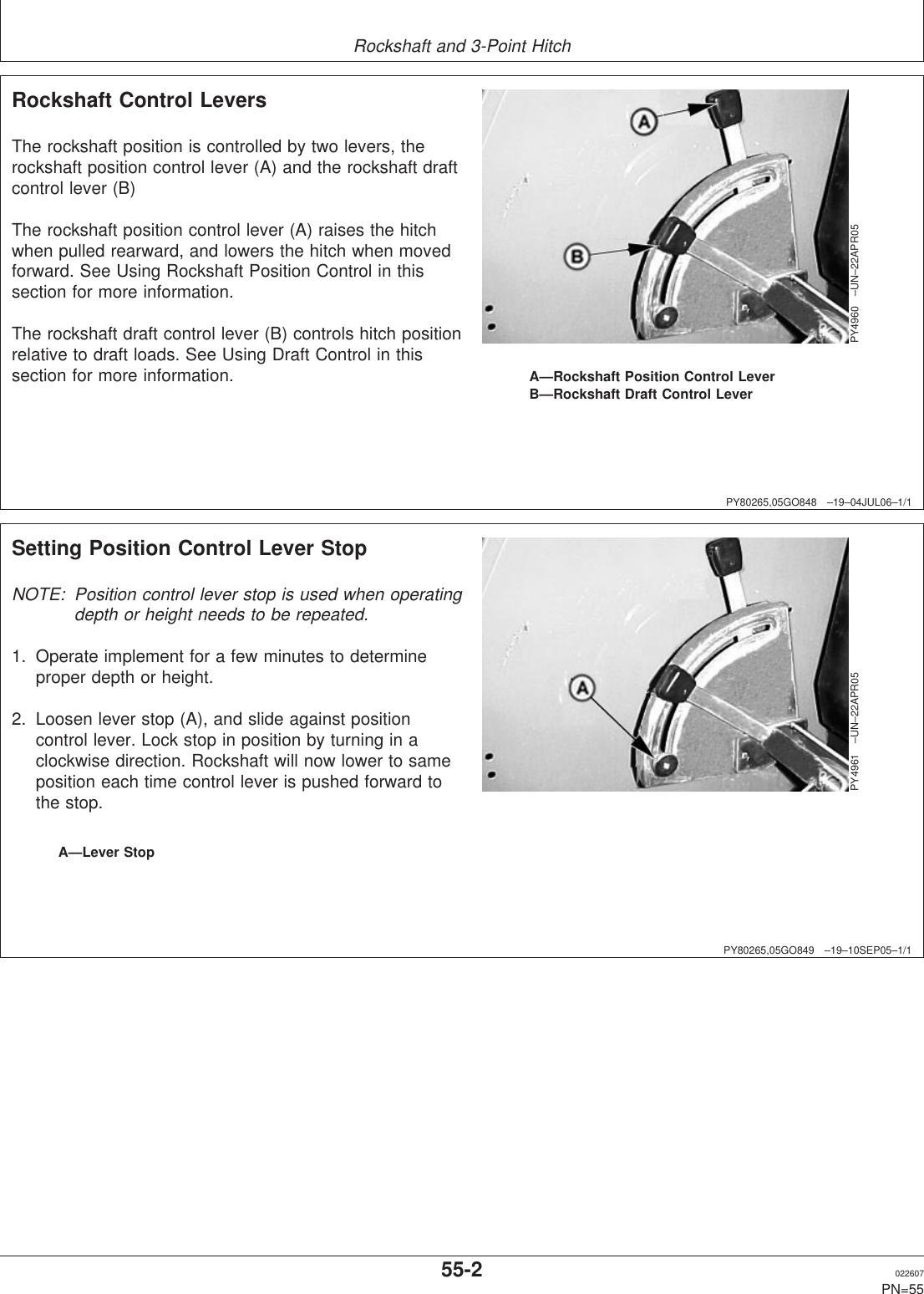 John Deere 5103E 5103 5103S 5203 5104 5204 Users Manual 043025UNIT